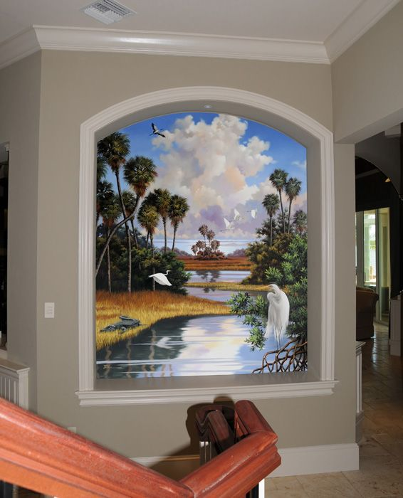 Murals Naples FL • Mural Art • Traditional Art • Tropical ...