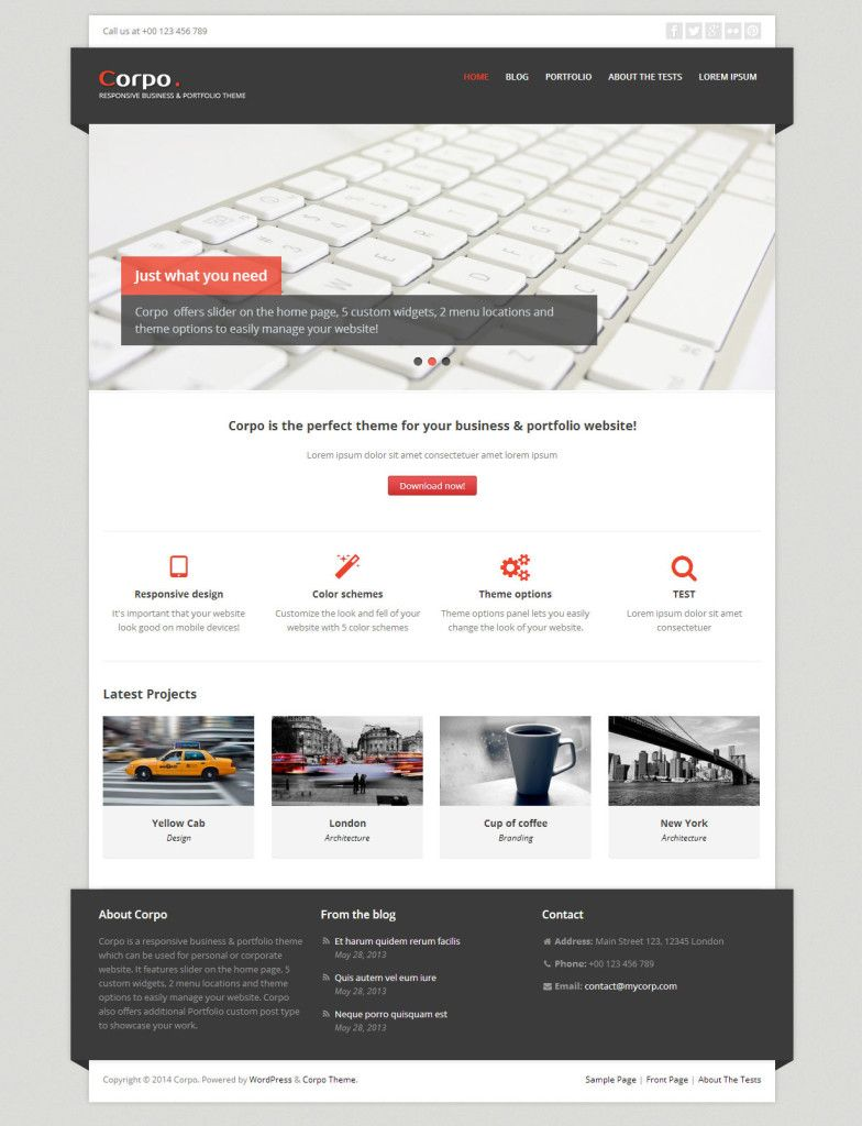 51 best free wordpress themes corpo is a responsive business and 51 best free wordpress themes corpo is a responsive business and portfolio theme which can flashek Choice Image
