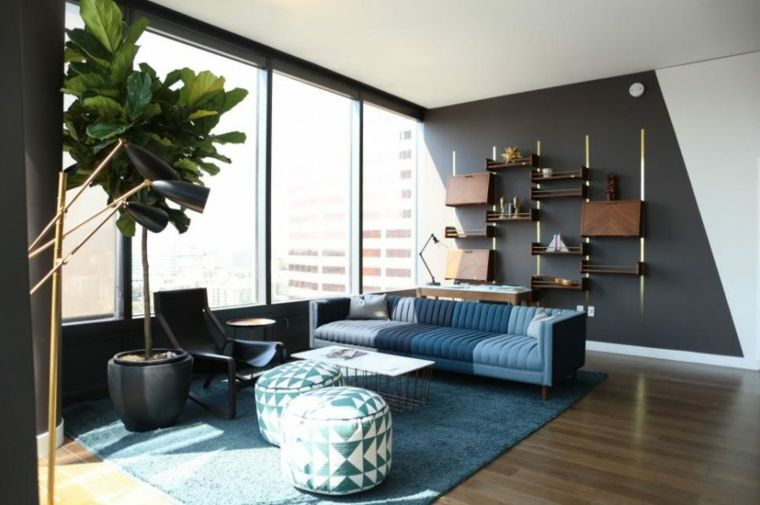 salones modernos ideas asombrosas para ambientes acogedores