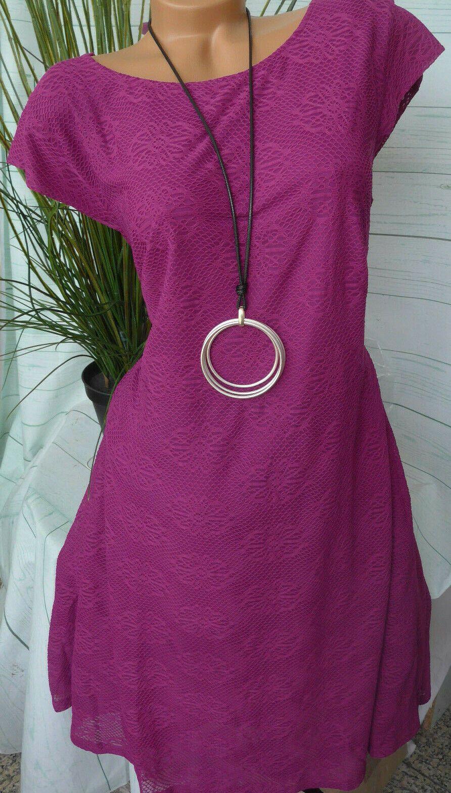 40 bis 58 Bordeaux Pailletten Sheego Eventkleid Abendkleid Kleid Gr 598