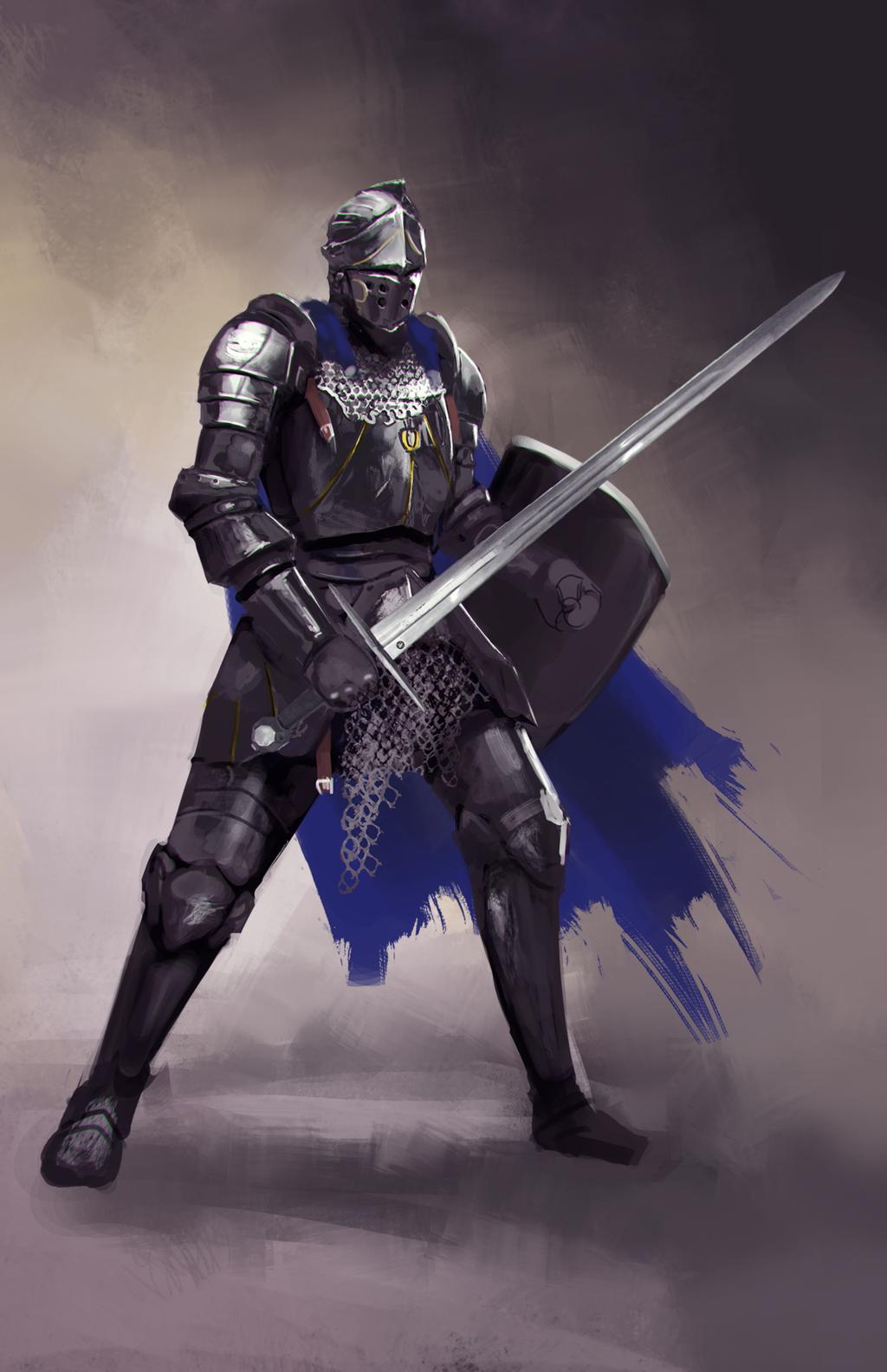 Fantasy Medieval Knight Medieval Knight by jef...
