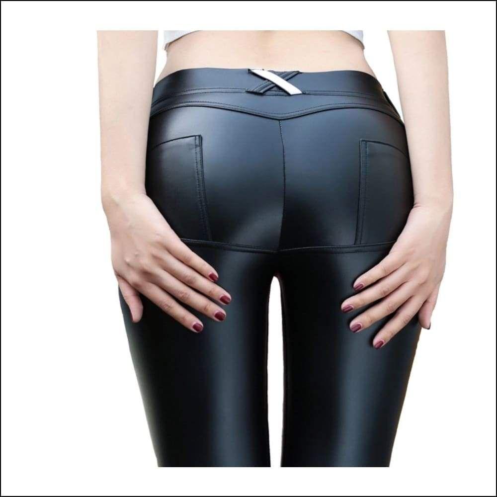 3f3e2919cc7763 Thong Leggings in 2019 | Leather | Leggings are not pants, Pants ...