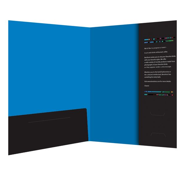 A Corporate Presentation Folder Design for BevShots LLC u2026 Pinteresu2026 - resume portfolio folder