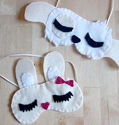 atelier diy masque de nuit masque de sommeil dormir et masque. Black Bedroom Furniture Sets. Home Design Ideas