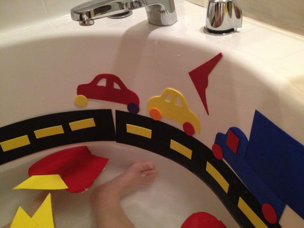 DIY Foam Bath Shapes for Kids | Bath, Shapes and Foam shapes