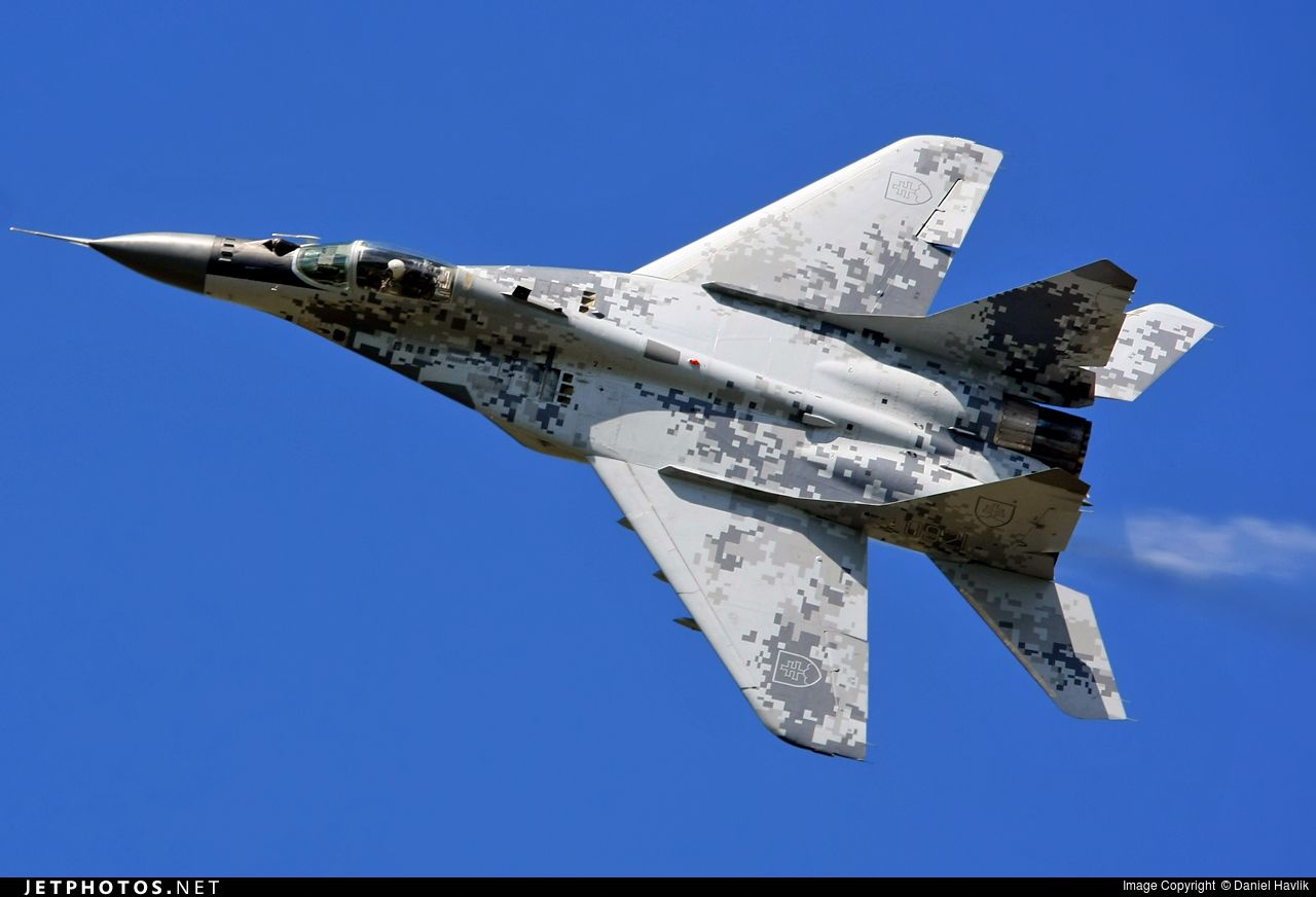 "Slovak Air Force Mikoyan MiG-29AS ""Fulcrum"""