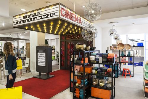 Image result for interesting selfridge experiential stores