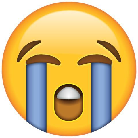 Loudly Crying Face Emoji Emoji Stickers Crying Emoji Cute Emoji Wallpaper