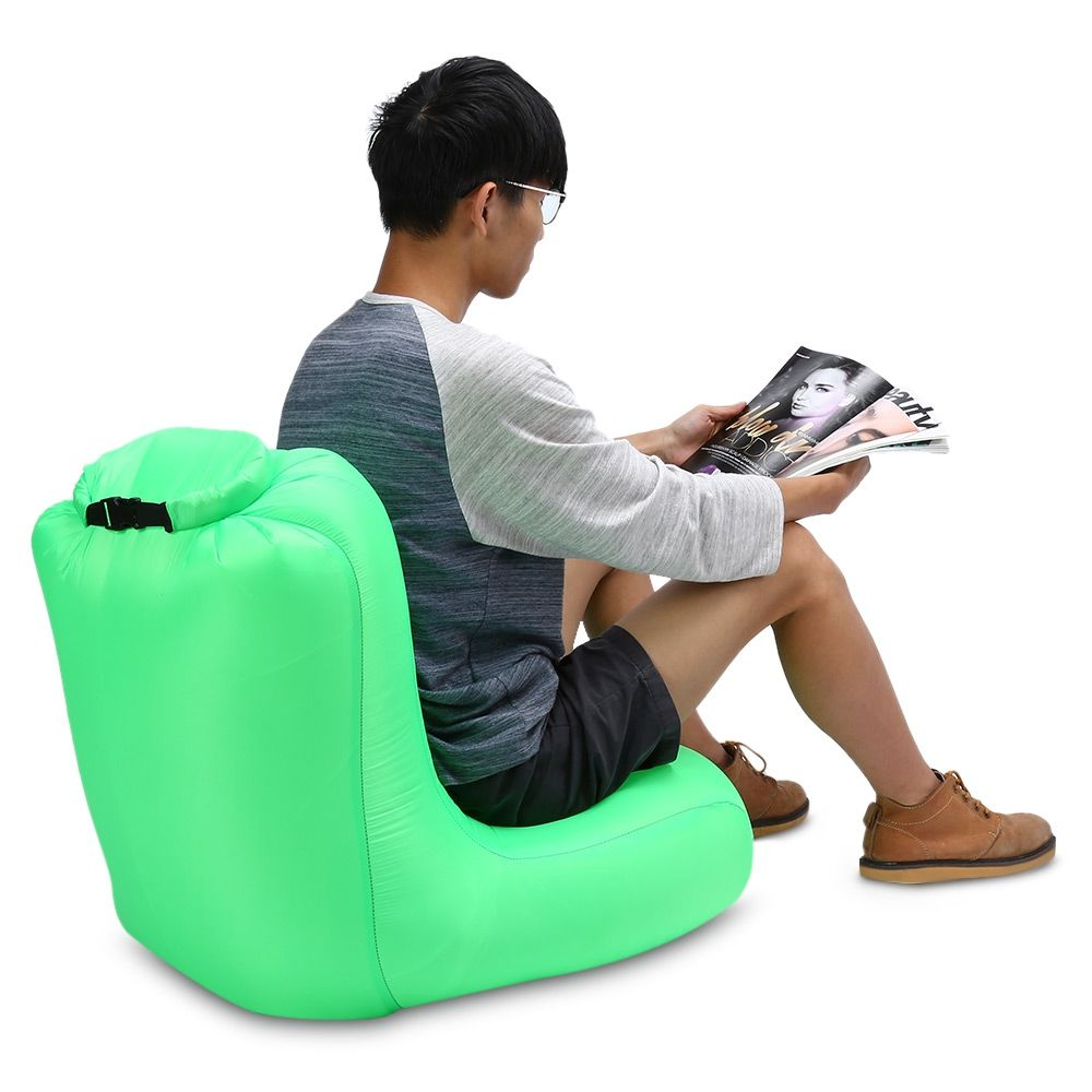 Phenomenal Portable Air Canape Gonflable Air Sac De Couchage Camping Machost Co Dining Chair Design Ideas Machostcouk