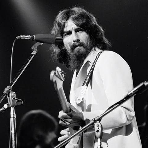 George Harrison. The Concert for Bangla Desh. Madison Square Garden. New York. August 1971.