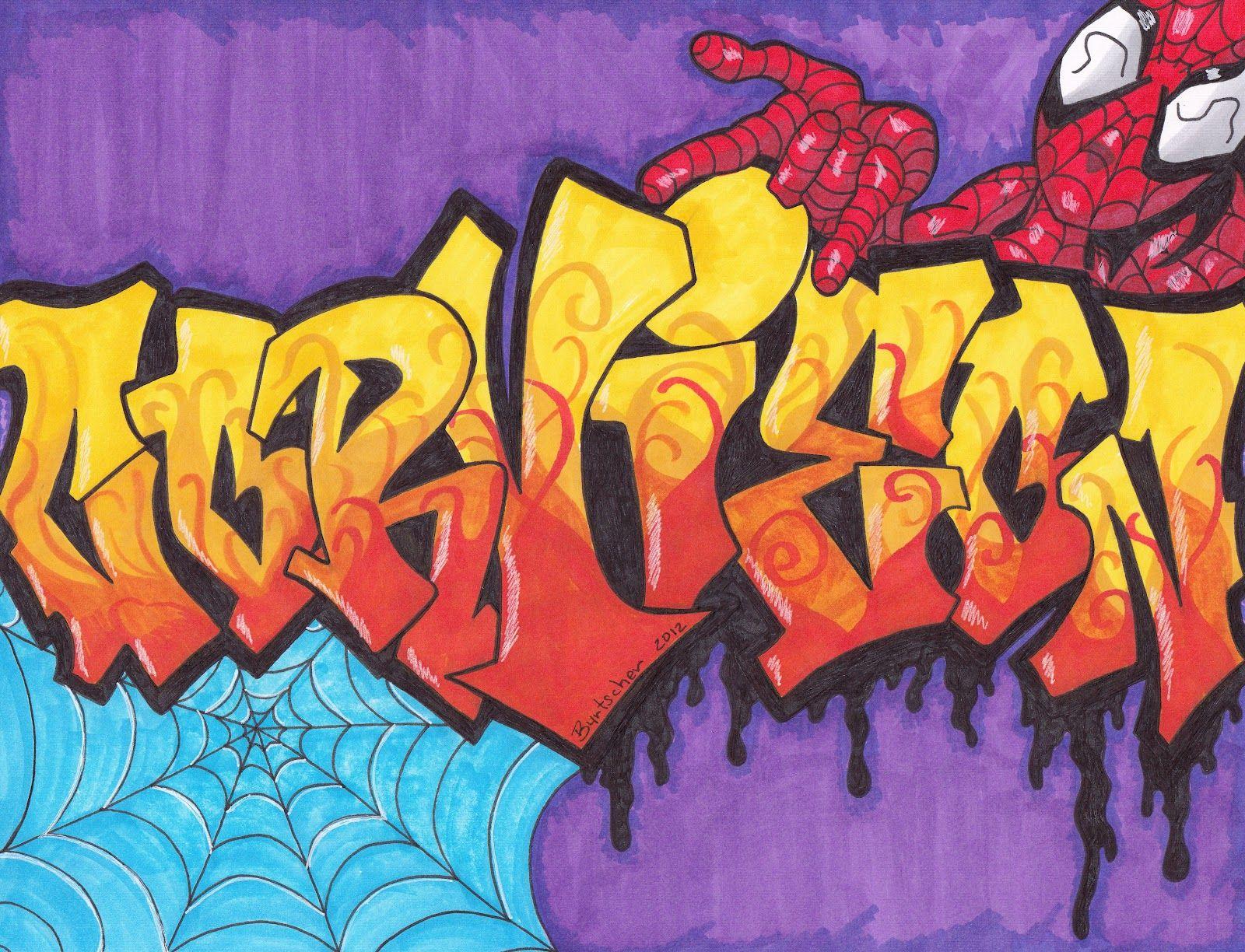 данном картинка рисование графити вкусный сладкий