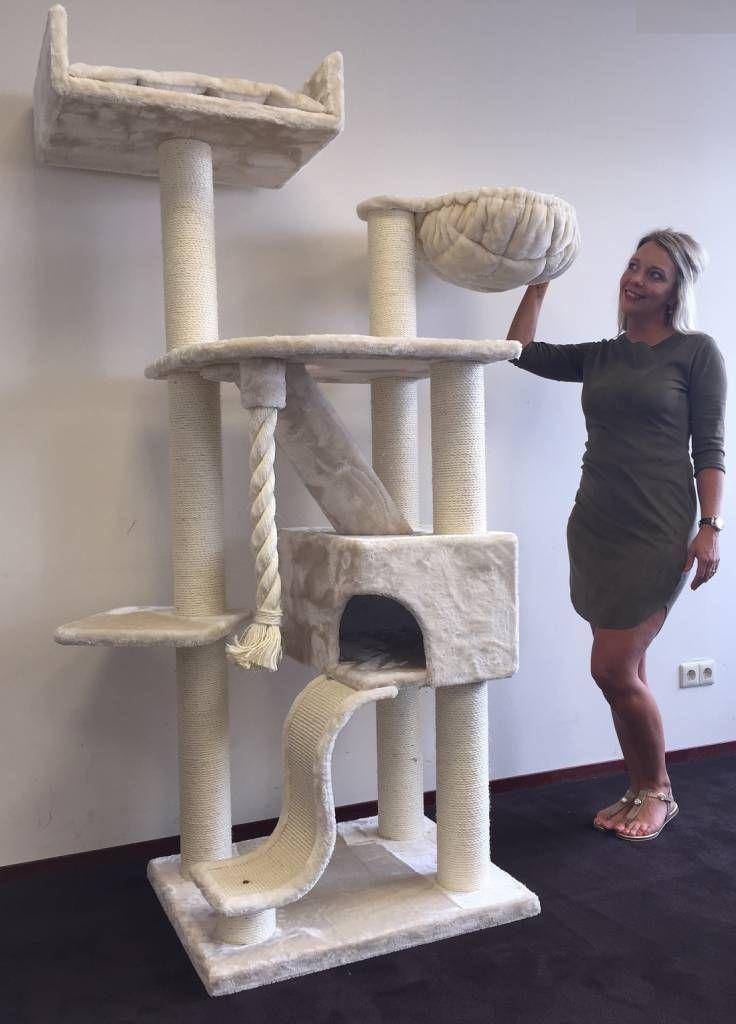 Rhrquality Kilimandjaro De Luxe Creme Cat Mansion Cat Room Cat Tree