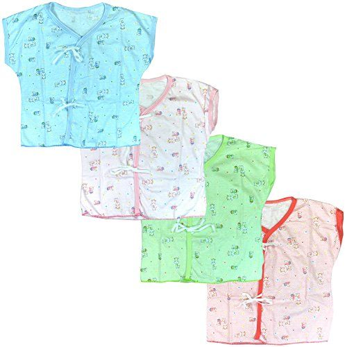 Lucky Lucky 4 Pack Tops Tee For Unisex Newborn Cotton Softness  Baby shirt -- See this great product.