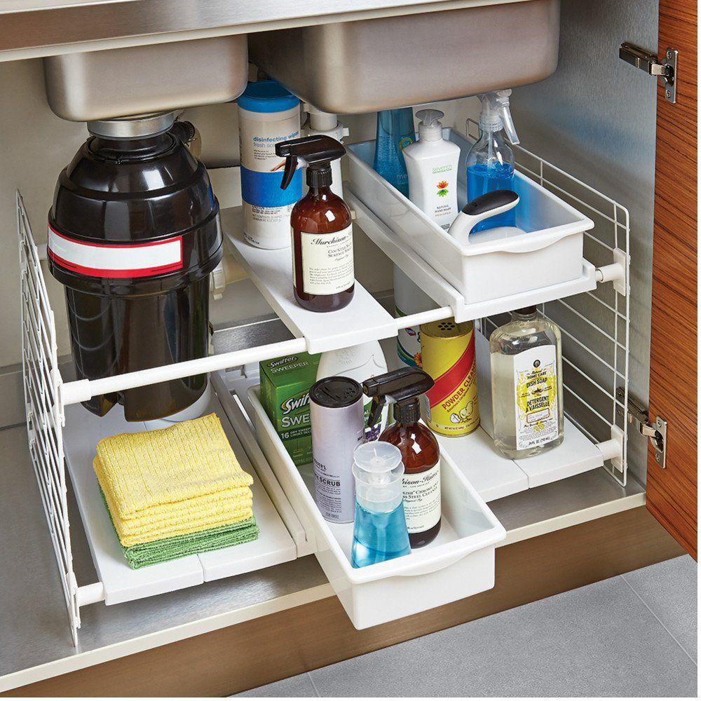 Under Sink Storage: Super-Smart Ways to Organize the Space Under Sink