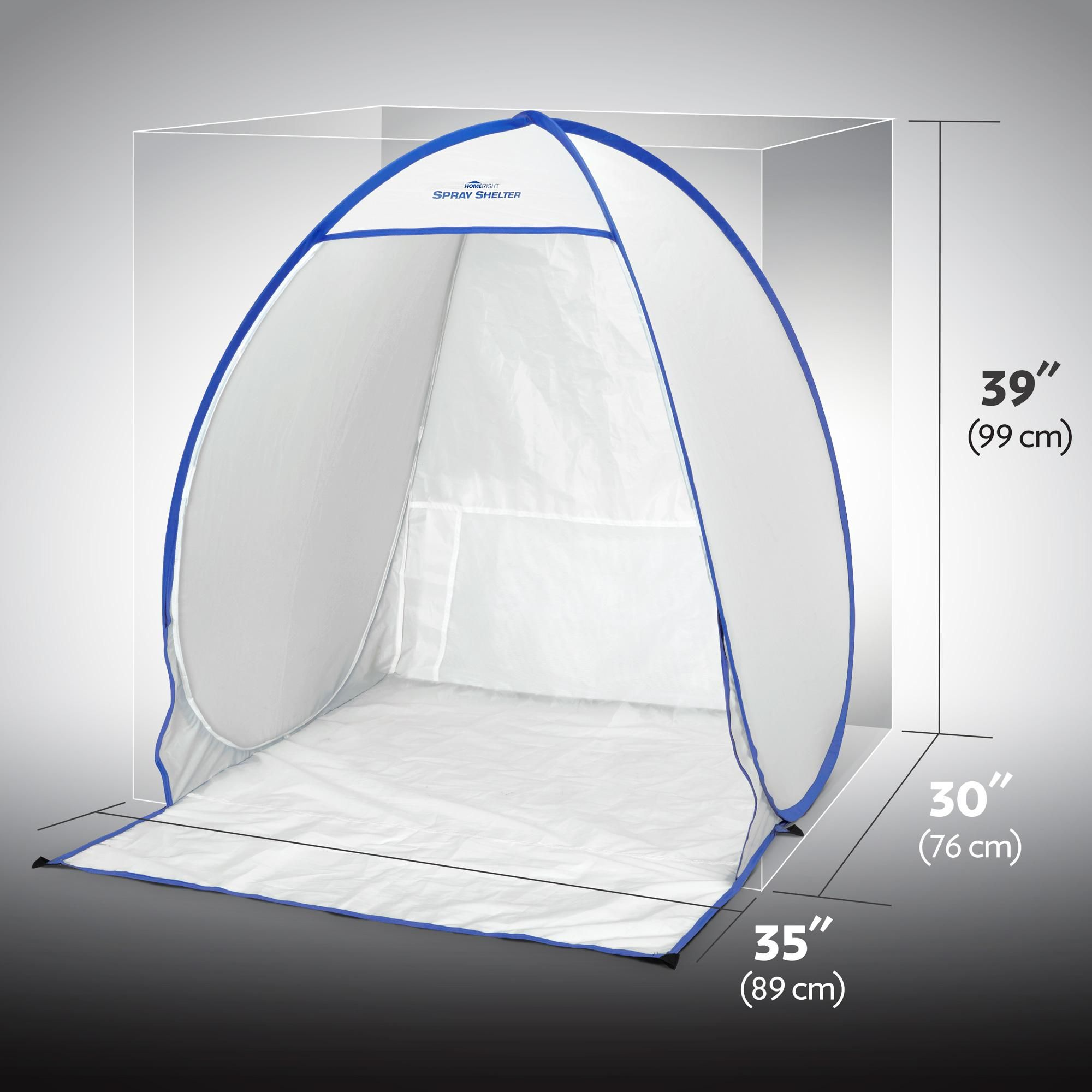 Amazon.com HomeRight Small Spray Shelter C900051 Portable Paint Booth for DIY Spray Painting & Amazon.com: HomeRight Small Spray Shelter C900051 Portable Paint ...