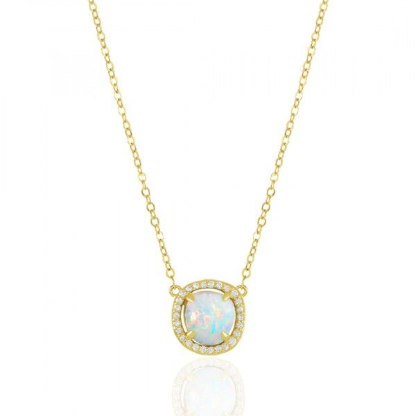 0c390a49932929 Margo Baby Gold White Opal Necklace | Style Board pt 5 in 2018 ...