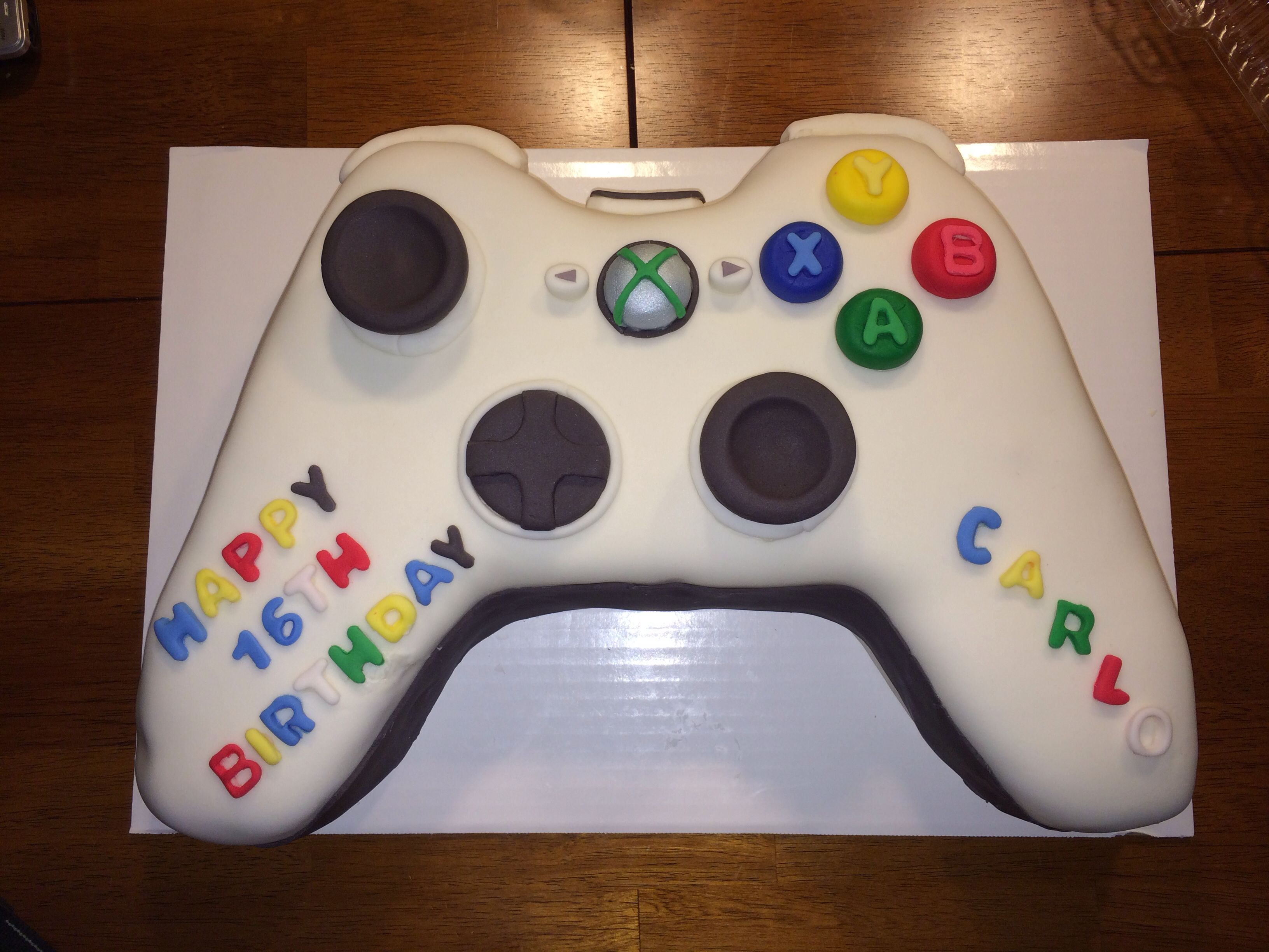 XBox Remote cake Cake, Gaming products, Food