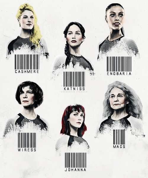 The female tributes of the 75th Hunger Games