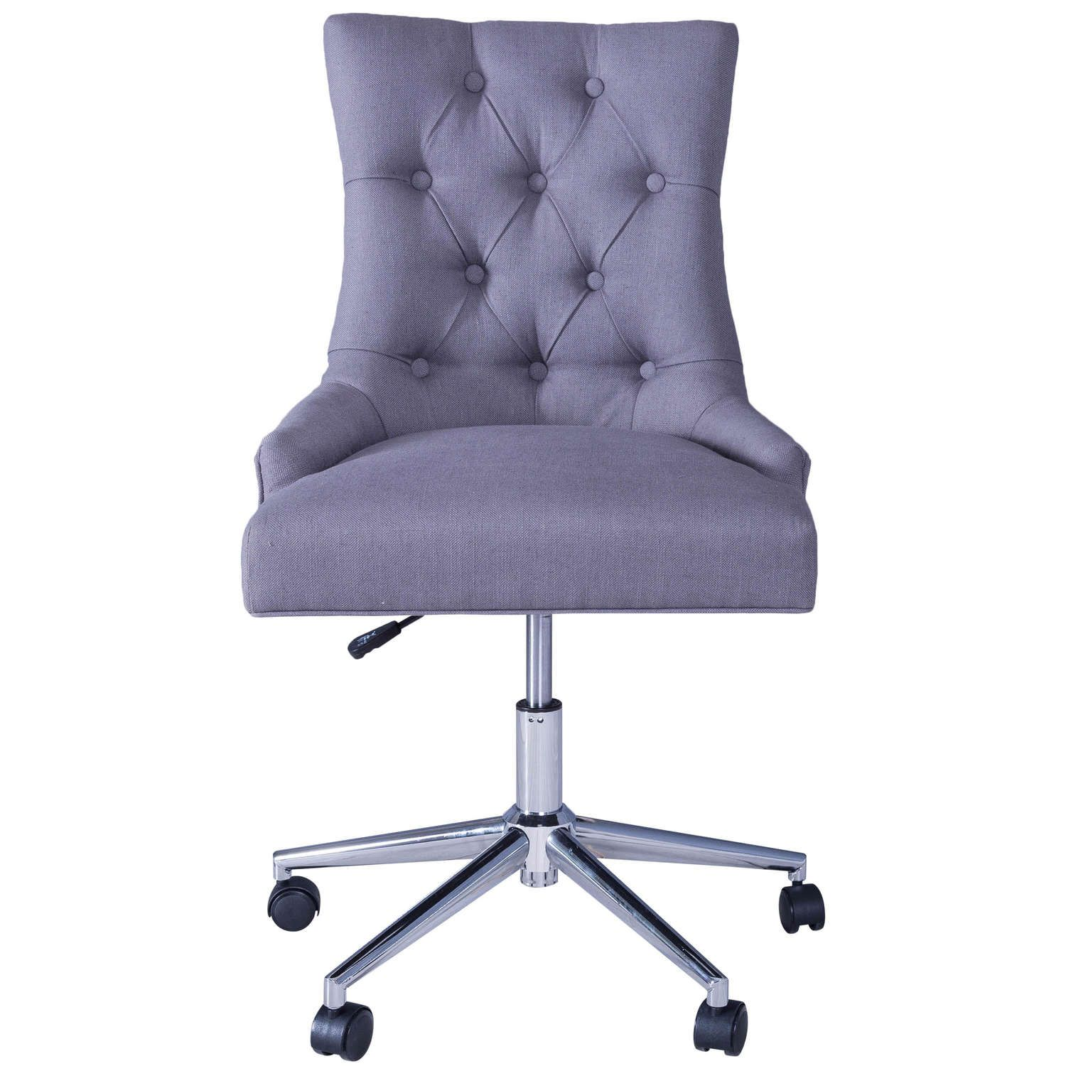 Jervaulx Chair Collection Button Back Office Chair Grey in