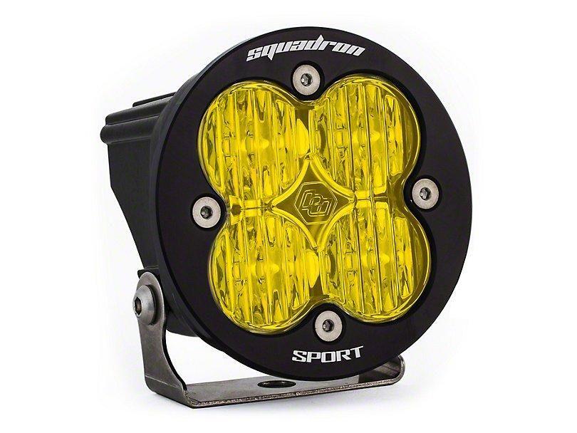 Baja Designs SquadronR Sport Amber LED Light Wide