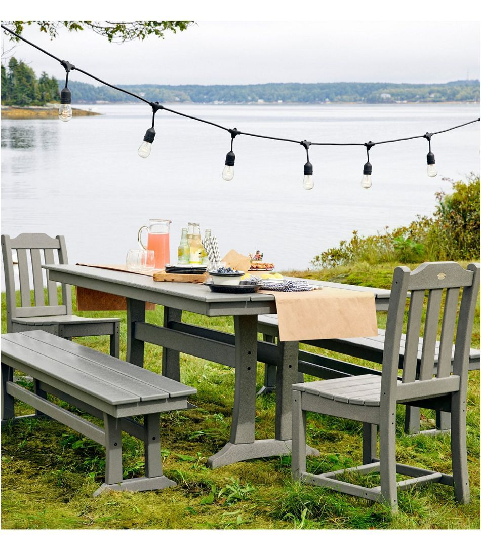 Allweather farmhouse table large in 2020 outdoor