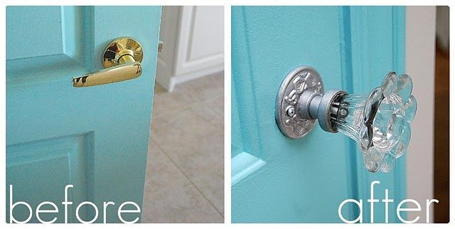 Beautiful How To Install Decorative Doorknobs, So Much Cuter After!