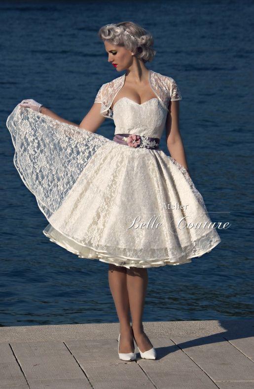 atelier belle couture | 50er jahre petticoat brautkleid