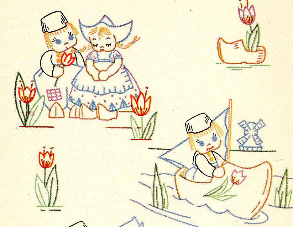 Vintage Hand Embroidery Patterns 88 Vintage Animal Embroidery