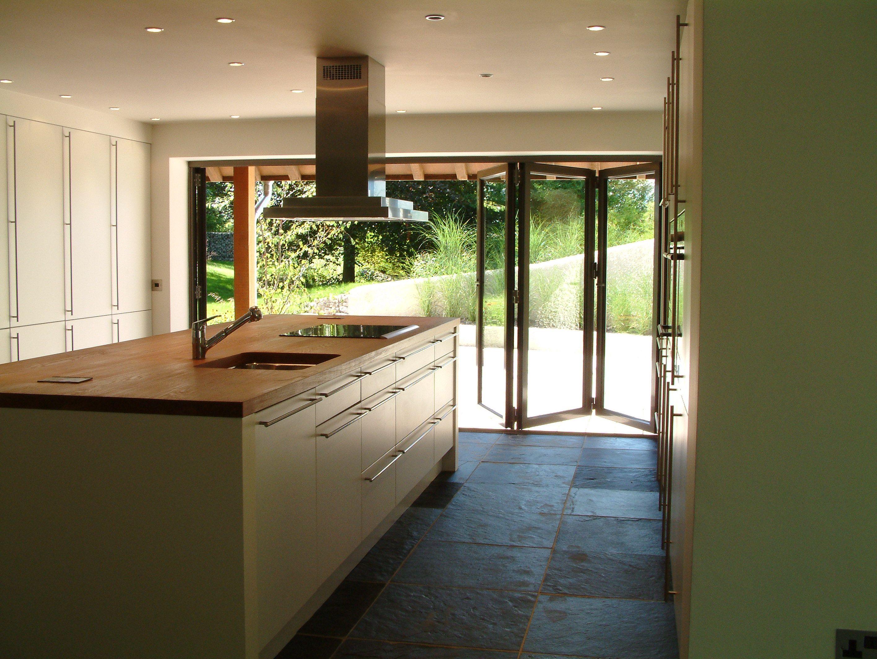 Bifolding Doors To Open Into The Backyard House Home
