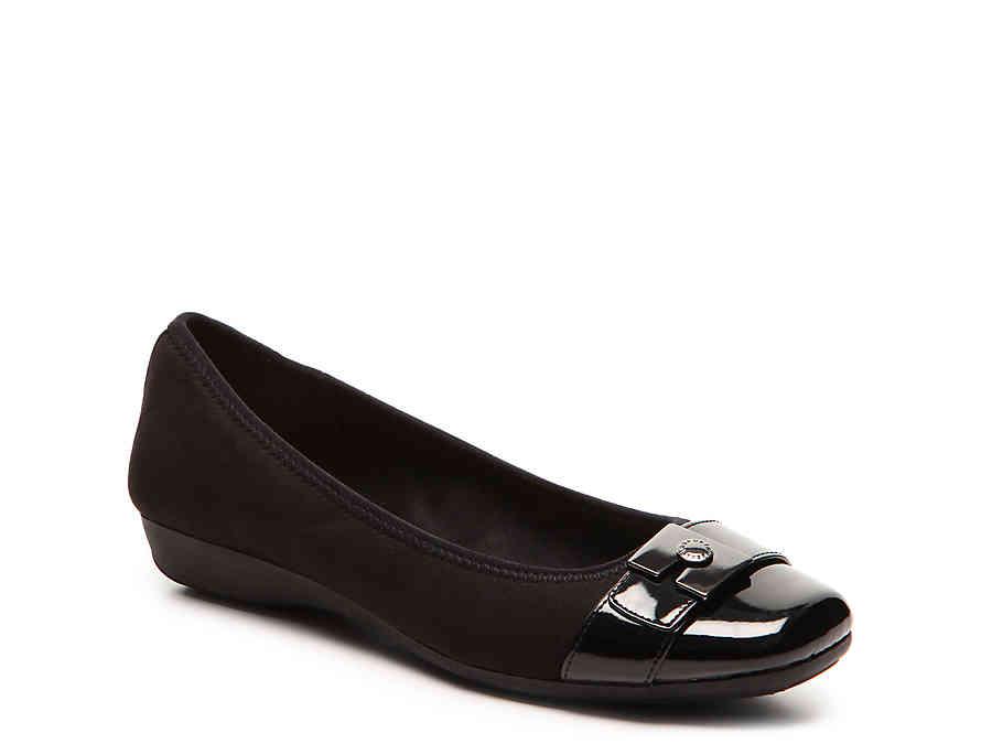 Anne Klein Sport Ursala Ballet Flat Women's Shoes DSW