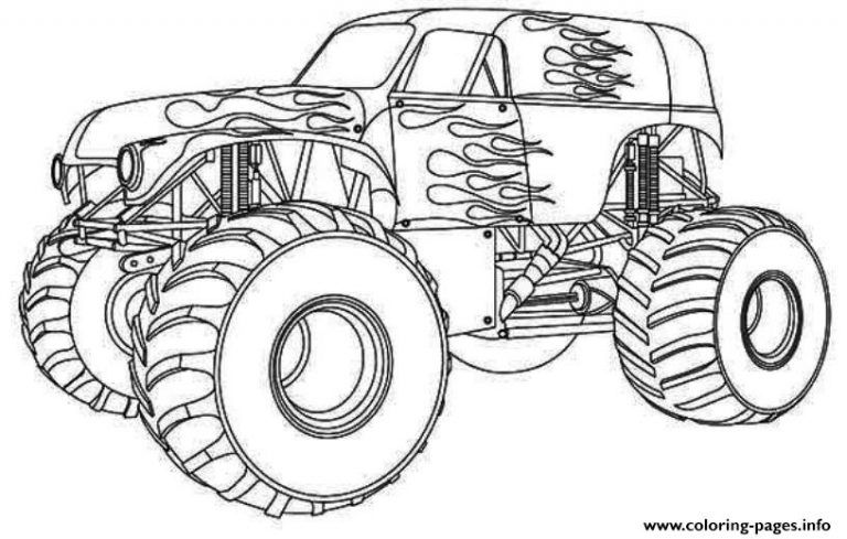 Http Christschurchfwb Org Wp Content Uploads 2018 06 Monster Truck Coloring Book Printa Monster Truck Coloring Pages Truck Coloring Pages Cars Coloring Pages