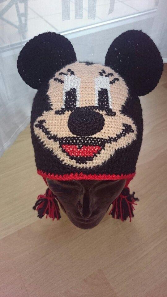 Pin von steffi Kocaman auf Minnie Mous Mütze | Pinterest