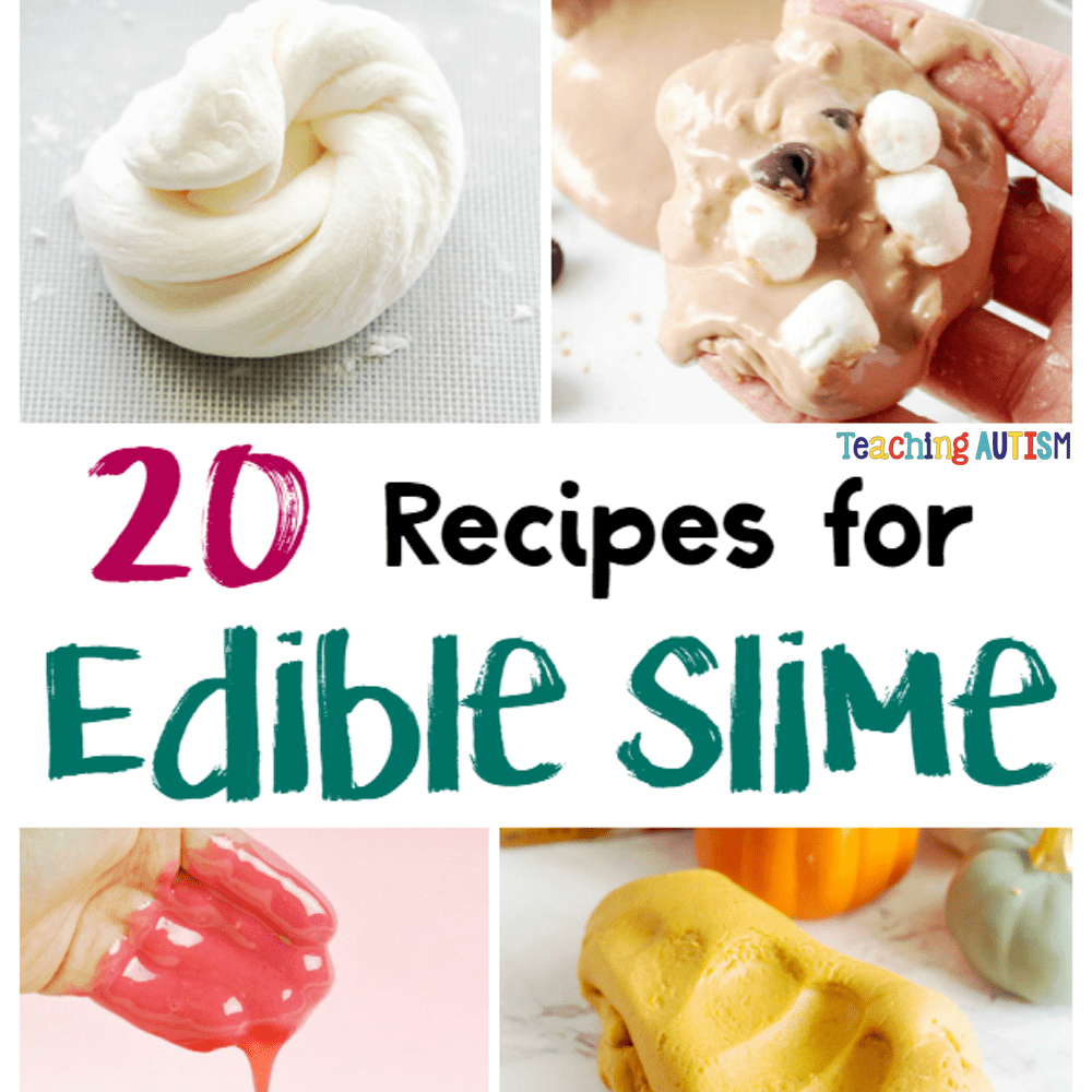 If you have younger children, it's probably already ran through your mind, the possibility of your kiddo putting it in their mouth. Edible slime is your #edibleslime If you have younger children, it's probably already ran through your mind, the possibility of your kiddo putting it in their mouth. Edible slime is your #edibleslime