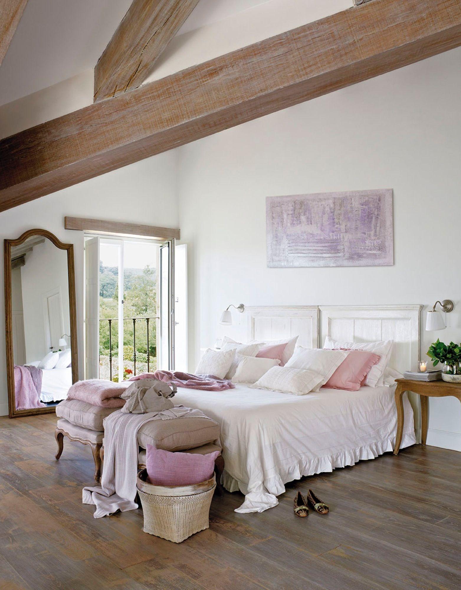 Con balc n pinterest dormitorios r sticos r stico y - Decorar habitacion rustica ...