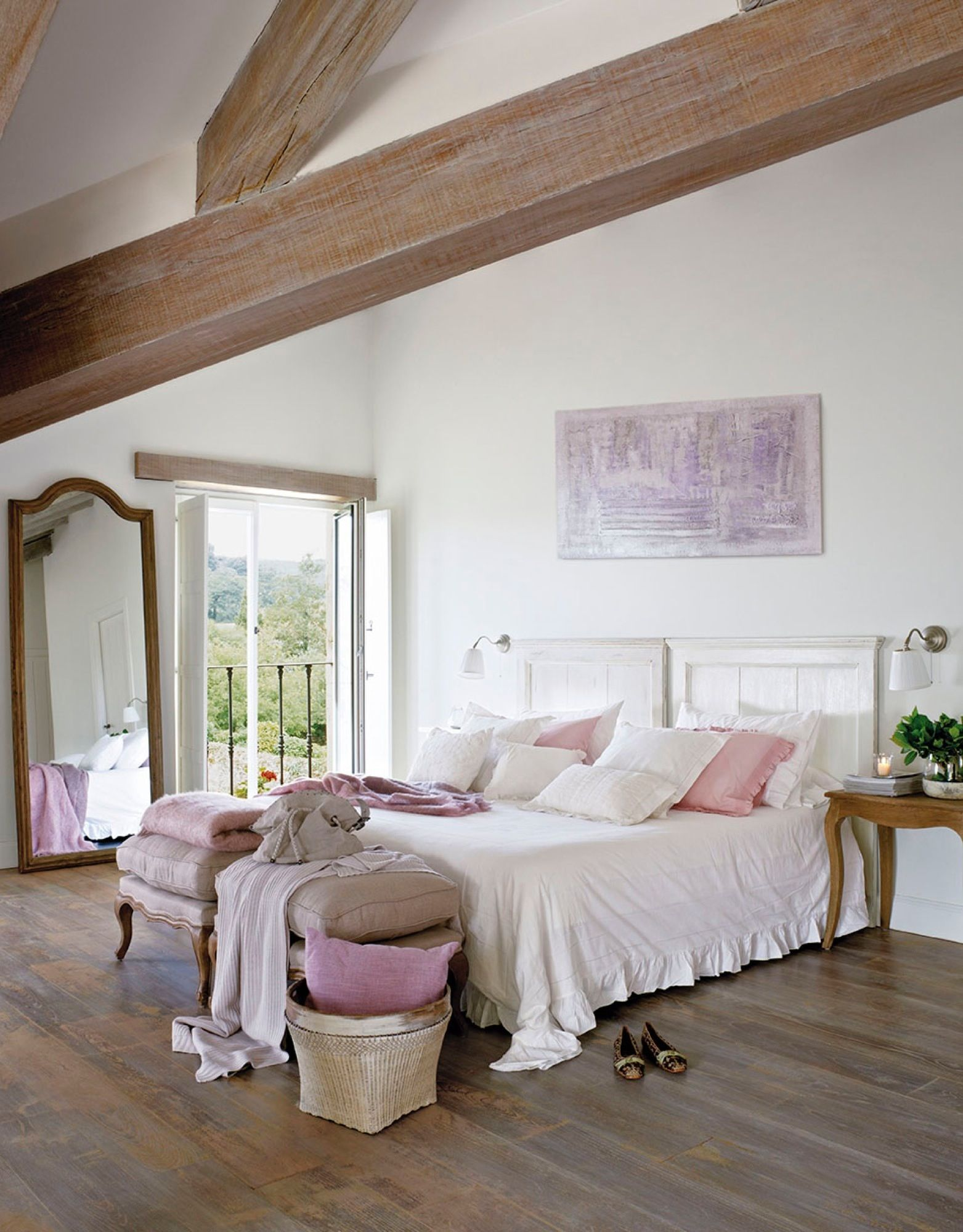 Decorar Dormitorio Rustico Matrimonio : Con balcón decoración. dormitorios rústicos dormitorios y