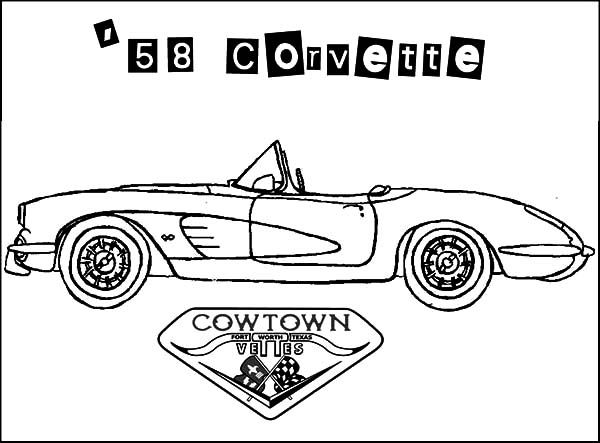 Corvette Cars Corvette Cars Cow Town 58 Coloring Pages Corvette Cars Cow Town 58 Coloring Pages Cars Coloring Pages Coloring Pages Old Corvette