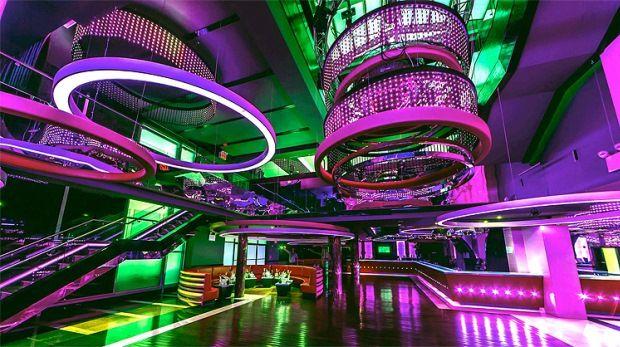 Glazz Club New York Ledblog Night Club Nightclub Design Disco Night