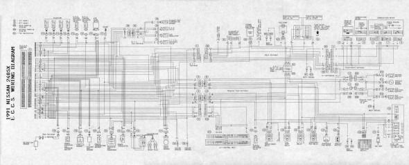 Nissan 240sx Wiring Harness Diagram Nissan 240sx Nissan Diagram