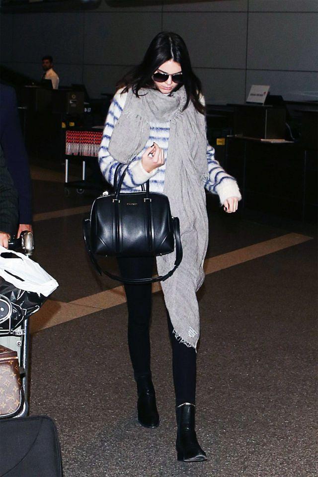 14 Celebs with Amazing Airport Style   - HarpersBAZAAR.com