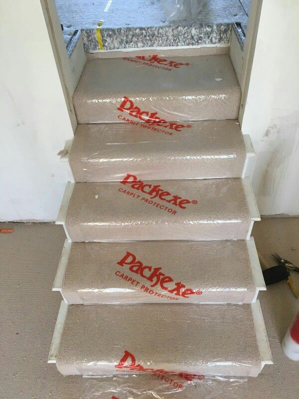 Packexe Carpet Protector On Stairs