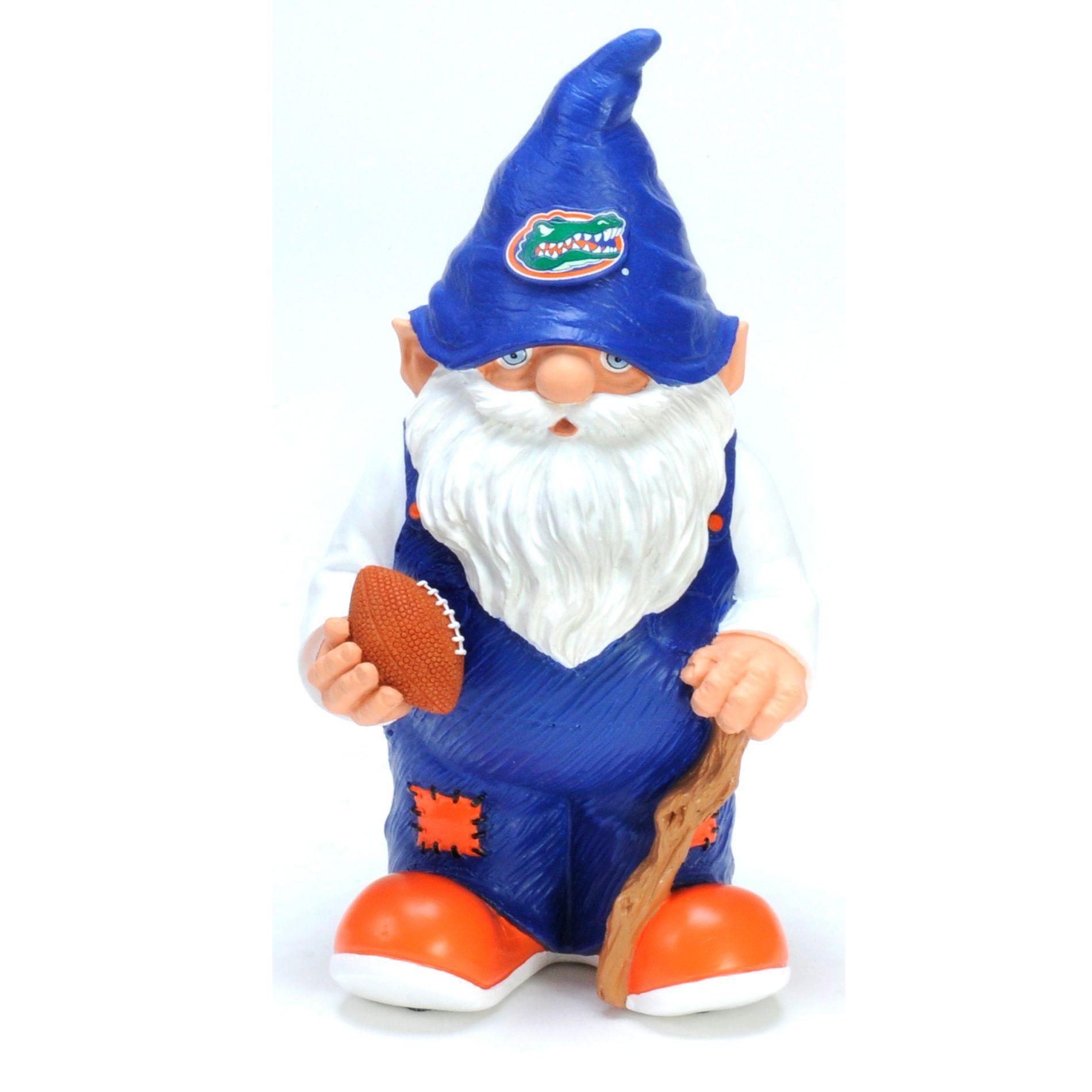 Forever Collectibles Ncaa Florida Gators 11 Inch Garden Gnome
