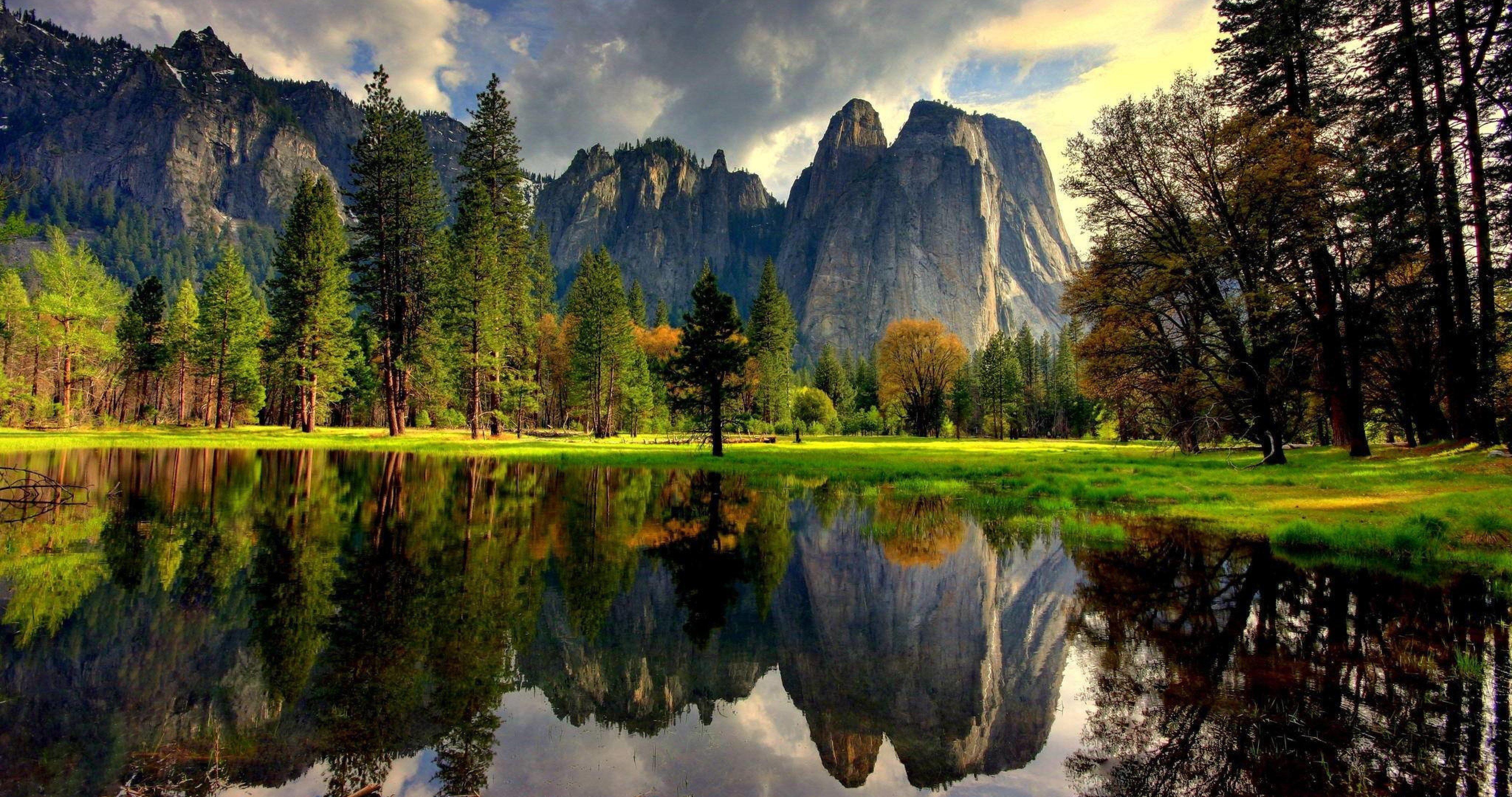 Havasu Falls Wallpaper Yosemite National Park 24 4k Ultra Hd Wallpaper