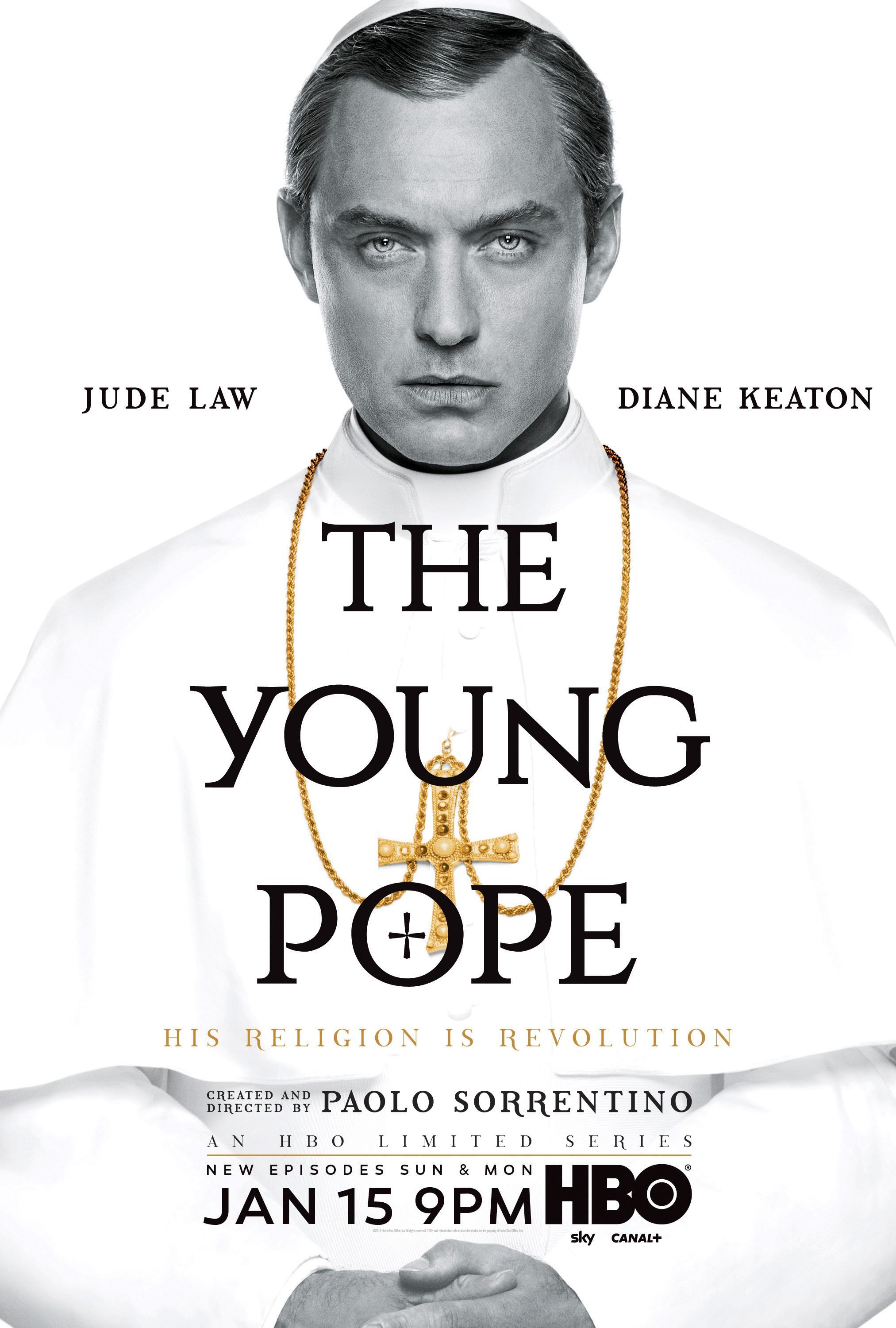 return to the main poster page for the young pope | series hbo