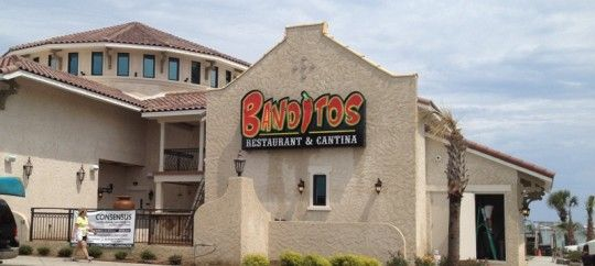 Banditos Restaurant And Cantina Is Now Open On Ocean Boulevard In Myrtle Beach South Carolina