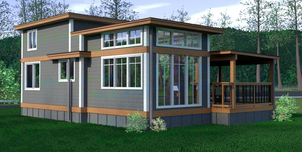 Lake Whatcom Cottage The Salish Design Wildwood Lakefront Cottage S Salish Design Is Unique And Efficient With A S Cottage Design Tiny House Cabin Small House