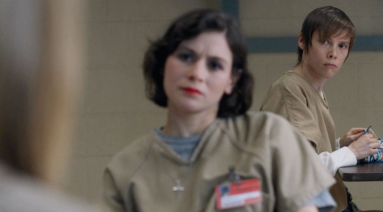 Orange Is The New Black Lorna Morello And Gina Murphy Orange Is The New Black New Black Oitnb