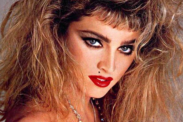 Makeup Through The Decades Haar Madonna Make Up