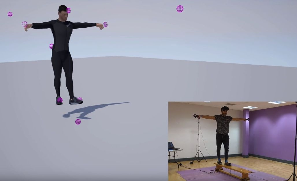 Ikinema Project Orion Full Body Mocap From 6 Htc Vive Trackers Motion Capture Htc Vive Capture