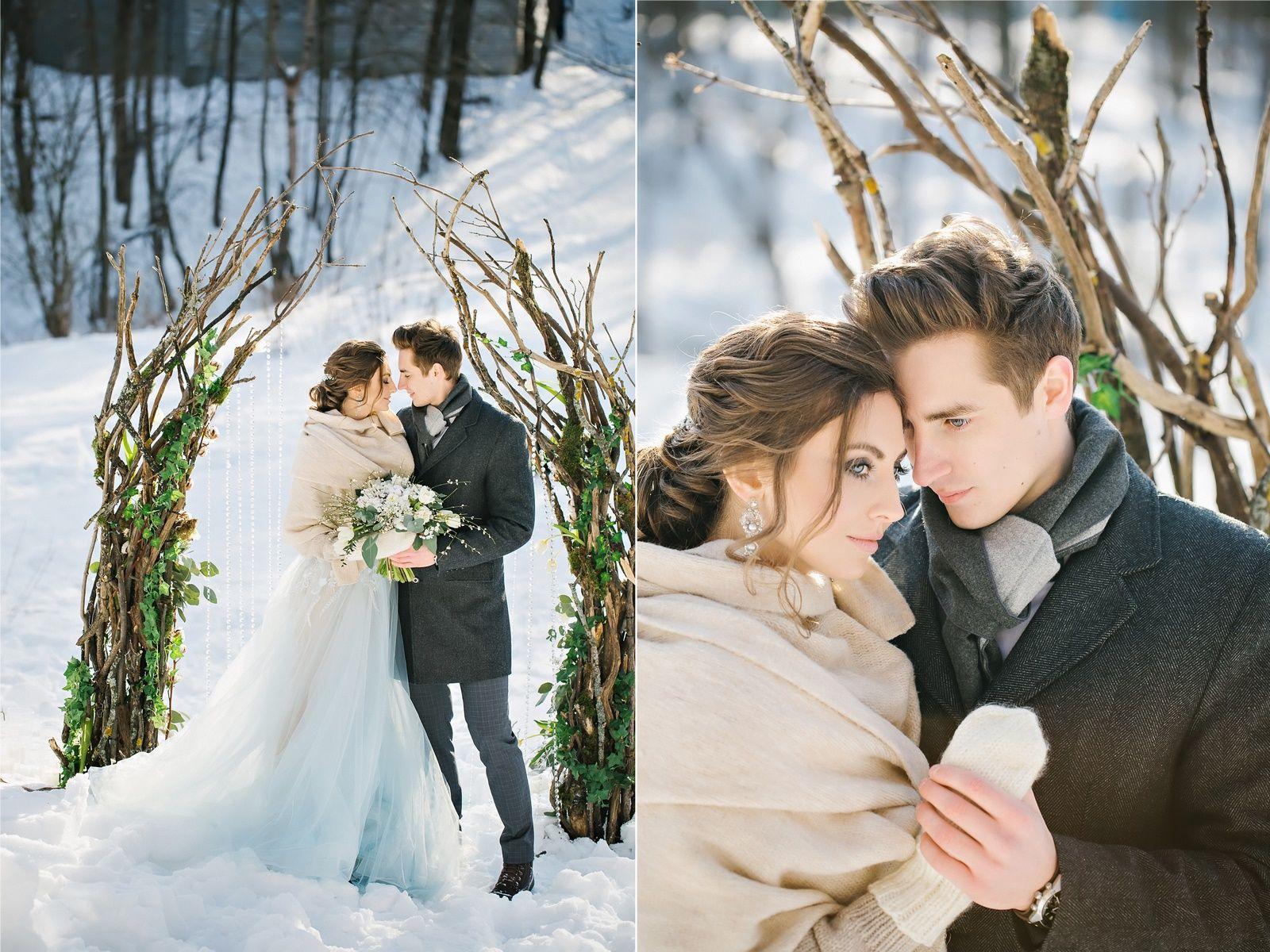 фотообоев любом идеи для зимней свадебной фотосессии фото ушей методом пирсинга