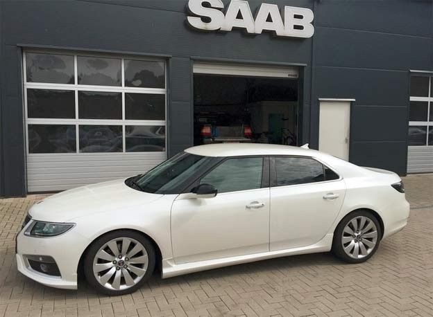 Reproduction Of The Hirsch Performance Bodykit For The Saab 9 5 Ng